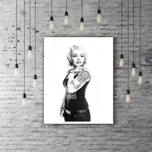 Original Tattoo Marilyn Monroe Poster Print 12x18